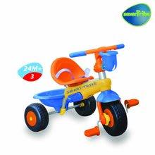 Staré položky - Trojkolka Lollipop smarTrike oranžovo-modrá so zvončekom +10 mesiacov_2