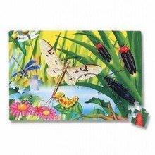 Pěnové puzzle - LEE PN151P  Puzzle 54 ks Insect - hmyz