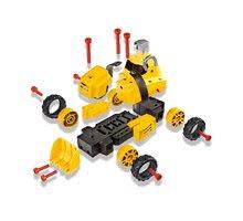 Staré položky - Worko Rectro-friction systém Smoby elektrický 5 druhů aut + 55 dílů_3