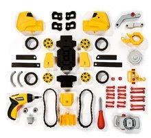 Staré položky - Worko Rectro-friction systém Smoby elektrický 5 druhů aut + 55 dílů_6