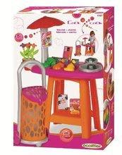 Obchody pro děti - ECOIFFIER 1727 Obchod s nákupným vozíkom