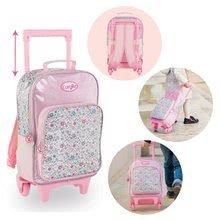 Školske torbe i ruksaci - Ruksak s kotačićima Flowers Les Bagages Corolle na cvjetiće 26*14*41 cm_0