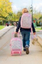 Školske torbe i ruksaci - Ruksak s kotačićima Flowers Les Bagages Corolle na cvjetiće 26*14*41 cm_6