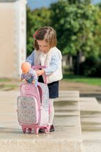Školske torbe i ruksaci - Ruksak s kotačićima Flowers Les Bagages Corolle na cvjetiće 26*14*41 cm_10