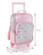 Školske torbe i ruksaci - Ruksak s kotačićima Flowers Les Bagages Corolle na cvjetiće 26*14*41 cm_11