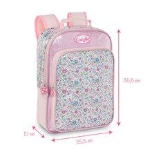 Školske torbe i ruksaci - Ruksak na cvjetiće Flowers Les Bagages Corolle 26*10*36 cm_7