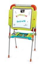 Kozmetické stolíky sety - Set kozmetický stolík Frozen Smoby so stoličkou a magnetická obojstranná tabuľa polohovateľná_5