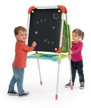Kozmetické stolíky sety - Set kozmetický stolík Frozen Smoby so stoličkou a magnetická obojstranná tabuľa polohovateľná_4