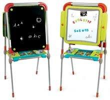 Kozmetické stolíky sety - Set kozmetický stolík Frozen Smoby so stoličkou a magnetická obojstranná tabuľa polohovateľná_13