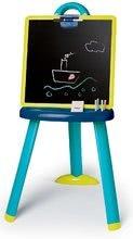 Tabule a lavice sety - Školní magnetická tabule 2v1 Smoby oboustranná se 7 doplňky a magnetické písmenka 72 ks_2