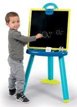 Tabule a lavice sety - Školní magnetická tabule 2v1 Smoby oboustranná se 7 doplňky a magnetické písmenka 72 ks_11