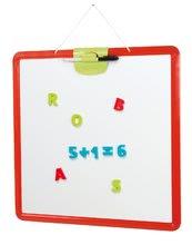 Tabule pro děti Activity Smoby magnetická, oboustranná na zavěšení s perem