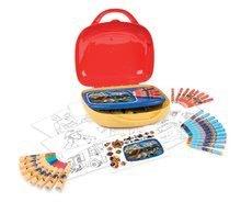 Smoby detský výtvarný kufrík Požiarnik Sam 410805