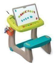 Hry na domácnosť - Set upratovací vozík s elektronickým vysávačom Vacuum Cleaner Smoby a lavica s obojstrannou tabuľou alekárskym kufríkom_11