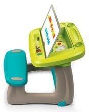 Hry na domácnosť - Set upratovací vozík s elektronickým vysávačom Vacuum Cleaner Smoby a lavica s obojstrannou tabuľou alekárskym kufríkom_4