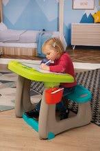 Hry na domácnosť - Set upratovací vozík s elektronickým vysávačom Vacuum Cleaner Smoby a lavica s obojstrannou tabuľou alekárskym kufríkom_6