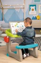 Hry na domácnosť - Set upratovací vozík s elektronickým vysávačom Vacuum Cleaner Smoby a lavica s obojstrannou tabuľou alekárskym kufríkom_17