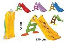 Šmykľavky pre deti  - Šmykľavka Dohány dĺžka 95 cm červená od 24 mes_1