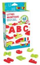 Magnetická písmenka Smoby abeceda 48 kusů