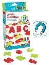 Smoby sada magnetickej abecedy 48 kusov 430100 zeleno-červená