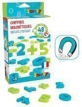 Mágneses betűk Számok és jelek Smoby 48 darab