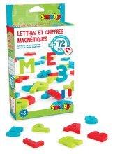 Magnetická písmenka pro děti Smoby abeceda, čísla a znaky 72 kusů