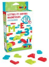 Magnetické písmenká pre deti Smoby abeceda, čísla a znaky 72 kusov