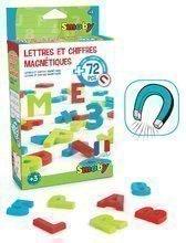 Magnetne črke Smoby abeceda, številke in znakci 72 kosov