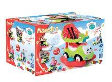 Staré položky - Odrážadlo Maestro II Confort Smoby s hojdačkou zeleno-červené od 6 mes_4