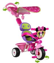 Smoby 434206 rózsaszín tricikli Baby Driver Confort Minnie Mouse 10 hó-tól