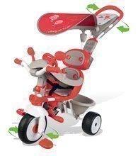 Trojkolka Baby Driver Confort Smoby od 10 mesiacov červená