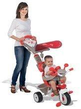 Trojkolky od 10 mesiacov - Trojkolka Baby Driver Confort Smoby červená od 10 mes_5