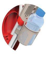 Trojkolky od 10 mesiacov - Trojkolka Baby Driver Confort Smoby červená od 10 mes_1