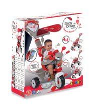 Trojkolky od 10 mesiacov - Trojkolka Baby Driver Confort Smoby červená od 10 mes_8