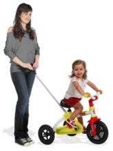 Trojkolky na reťazový pohon - Reťazová trojkolka Sport Line Trike Smoby ružovo-strieborná od 15 mes_1
