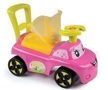 Dětská chodítka - Odrážedlo a chodítko Auto Fille 2v1 Smoby růžové od 10 měsíců_9