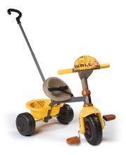 Detská trojkolka Wall-E WD Smoby od 15 mesiacov žlto-hnedá
