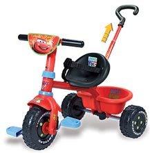 Tricikel Avtomobili Be Fun Smoby rdeče-črn od 15 mes