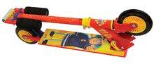 Kolobežky dvojkolesové - Skladacia kolobežka dvojkolesová Fireman Sam Smoby s nastaviteľnou rúčkou červená od 5 rokov_0