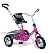 Tricicletă acţionat cu lanţ Zooky Classic Girl Smoby roz deschis de la 16 luni