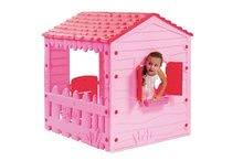 Domčeky pre deti - Domček Farm House Starplast ružový od 24 mes_0