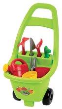 Dětský vozík pro zahradníka Piknik Écoiffier od 18 měsíců 8 doplňků