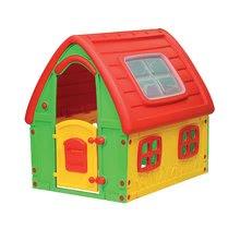 Gyerek házikó Fairy House Starplast 2 éves kortól piros-zöld