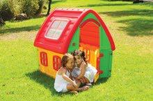 Domečky pro děti - Domeček Fairy House Starplast červeno-zelený od 24 měsíců_0