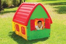 Domečky pro děti - Domeček Fairy House Starplast červeno-zelený od 24 měsíců_1