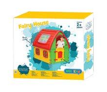 Domečky pro děti - Domeček Fairy House Starplast červeno-zelený od 24 měsíců_3