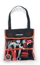 Delovno orodje Black&Decker Smoby v torbi z mehanskim vrtalnikom 6 kosov