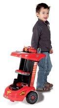 Otroška delavnica - Delovni voziček Avtomobili Smoby z mehanskim vrtalnikom, avtomobilom McQueen in 27 dodatki_1