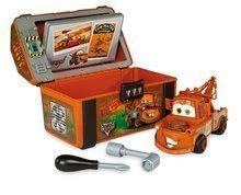 Sety autíčka - Set trenažér V8 Driver Smoby elektronický so zvukom a pracovný kufrík Spy Box_5