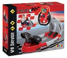 Trenažér pre deti - Pretekársky trenažér V8 Driver Smoby elektronický so zvukom_1